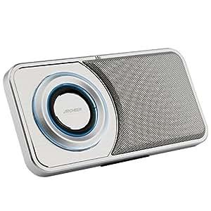 Archeer Altoparlante Bluetooth Speaker Cassa Tosca Sottile Portabile Vivavoce per iPhone Samsung e altri (Argento)