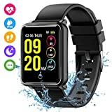 Seneo Smart Watch, Bluetooth Smartwatch Waterproof IP68 Fitness Tracker Watch with Heart Rate