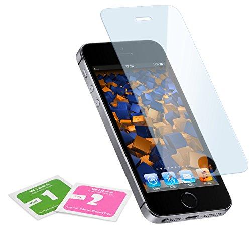 mumbi Glasfolie Hartglas 9H für iPhone 5 , iPhone 5s , iPhone SE