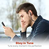 Bluetooth Earphones, TaoTronics Bluetooth 4.1 Headphones Stereo Magnetic Earbuds, Secure Fit for Sport, Gym with Built-in Mic only --- on Amazon