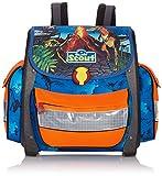 Scout Unisex -Kinder Schulranzen Buddy, dino rex blau, 49200053700