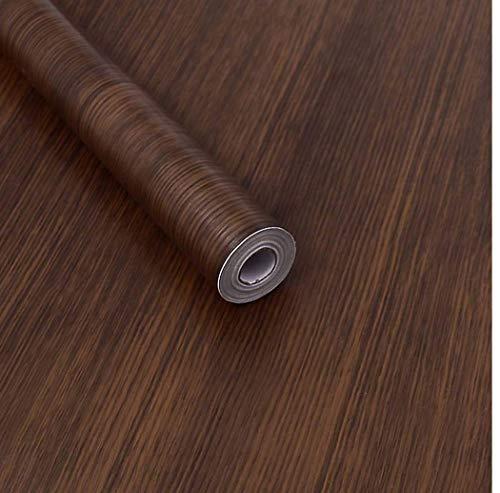 Grano madera oscura Papel contacto Decorativo Madera
