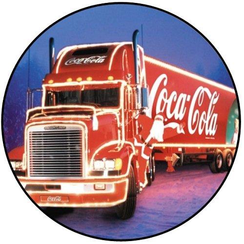 Coca Cola Weihnachten–Buttons/Magneten/Schlüsselanhänger-Flaschenöffner–Weihnachten (Badge (58mm)) (Schlüsselanhänger Flaschenöffner (58mm)) (Schlüsselanhänger Flaschenöffner (58mm)) (Schlüsselanhänger Flaschenöffner - Cola Flaschenöffner Coca Schlüsselanhänger