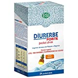 Esi Diurerbe Forte Ananas Integratore Alimentare - 24 Pocket Drink