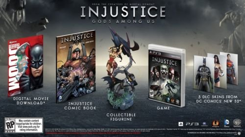 PS3 Injustice: Gods Among Us - Collector's Edition - BRAND NEW (Clearance Inflatables Halloween)
