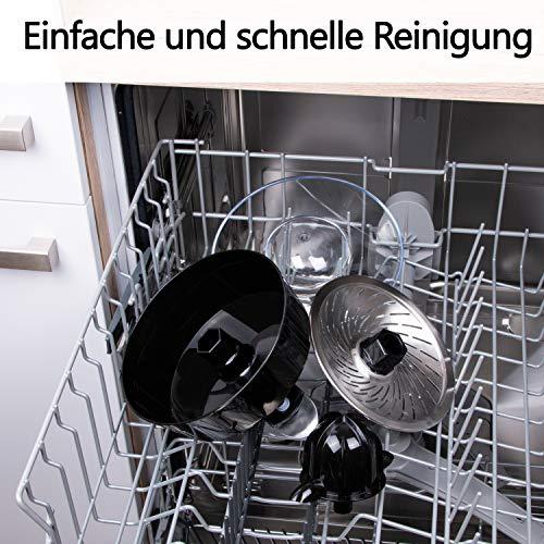 Elektrische Edelstahl Zitruspresse – TZS First Austria Bild 3*
