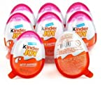 12 Kinder Joy Chocolate para las niñas