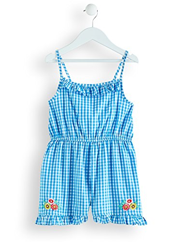 RED WAGON Girl's Embroidered Cotton Gingham Playsuit