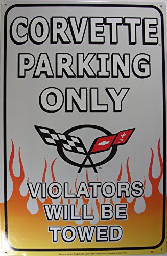 chevrolet-chevy-corvette-parking-only-blechschild-28x44