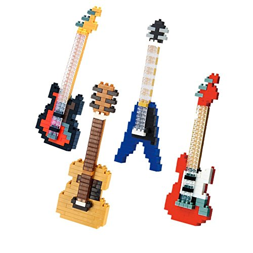 SainSmart-Jr-4-Satz-Diamant-Nano-Blcke-Musikinstrument-Elektronische-Orgel-Violine-Piano-Jazz-Drum-DIY-Mikro-Bricks-Lernspielzeug