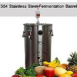 Bluelover 304 acier inoxydable fermenteur Fermentation baril Home Brew vin bière fermenteurs-20 l