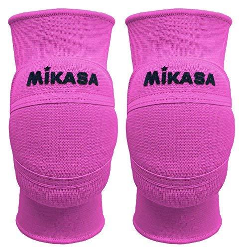 Mikasa MT8 premier coppia ginocchiere volley pallavolo rosa fluo (XL)