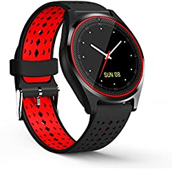 Reloj Inteligente Bluetooth 4.0 Smart Watch Pantalla Táctil Soporta SIM / TF Impermeable para Android