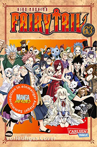 Fairy Tail 63 – Limitierte Edition: mit 44-seitigem Farb-Booklet