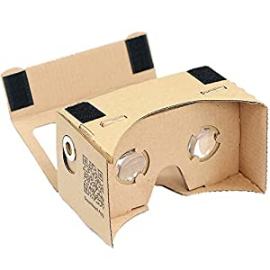 google cardboard kit by d scope pro tm 3d virtual reality compatible with android apple easy. Black Bedroom Furniture Sets. Home Design Ideas