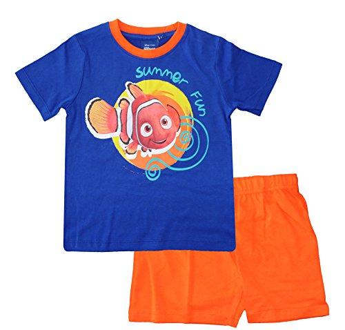 Disney -  Pigiama due pezzi  - ragazzo Multicolore Nemo (Blue / Orange)