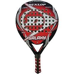 Dunlop Galaxi Mate - Pala de pádel, color rojo / negro / blanco, 38 mm