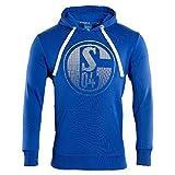 FC Schalke 04 Kapuzen Sweat Signet königsblau