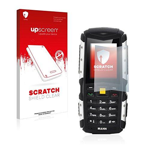 Preisvergleich Produktbild upscreen Scratch Shield Displayschutzfolie Mann Zug S Schutzfolie – Kristallklar, Kratzschutz, Anti-Fingerprint, Made in Germany