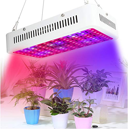 TZTED LED 900W Pflanzenlampe Grow Light Vollem Spektrum LED Wachstumslicht LEDs Pflanzenlicht Grow Lamp Mit UV & IR Für Zimmerpflanzen Gemüse Und Blumen