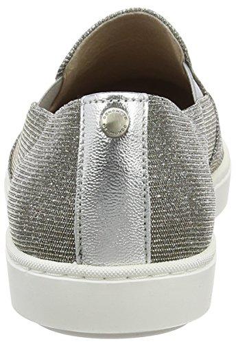 Belmondo 703375, Baskets Basses femme Argent - Silber (argento)