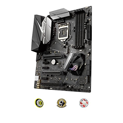 Cheapest Price for ASUS LGA 1151 STRIX Z270E GAMING Intel Z270 ATX Motherboard – Black on Line