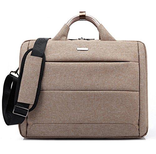 bronze-timetm156-inch-laptop-bagnylon-computer-briefcase-shoulder-bag-deep-khaki