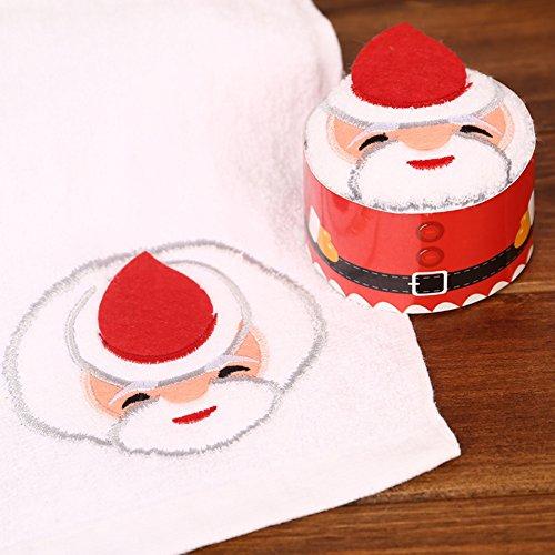 Bolsa de regalo de Navidad, hankyky pequeño grande árbol de Papá Noel caja de presente, algodón, Santa Claus Gift Cake Tower, 1 unidad