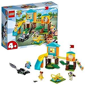 LEGO Juniors 4+ ToyStory4 AvventuraalParcoGiochidiBuzzeBoPeep con Minifigure di Buzz Lightyear, Bo Peep e Gabby Gabby, 10768 LEGO Juniors LEGO