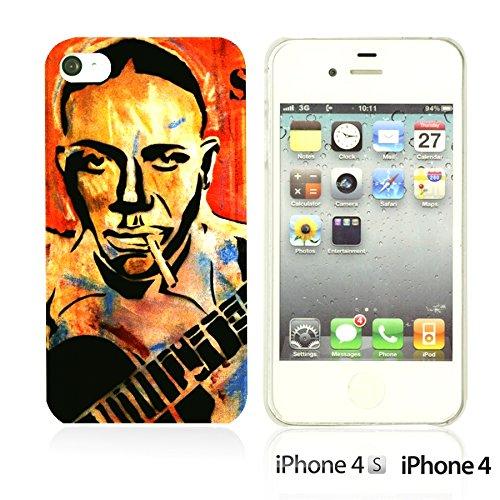 OBiDi - Celebrity Star Hard Back Case / Housse pour Apple iPhone 4S / Apple iPhone 4 - Marvin Gaye Robert Johnson