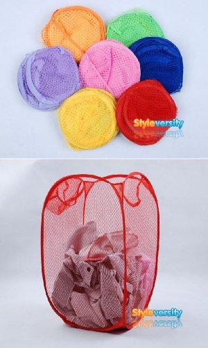 foldable-pop-up-mesh-washing-laundry-basket-bag-bin-hamper-toy-tidy-storage