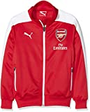 PUMA Kinder Jacke AFC T7 Anthem Jacket with Sponsor, High Risk Red-White, 176, 746581 01