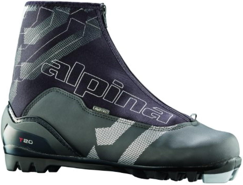 alpina T20 Langlauf Nordic Touring Ski Stiefel mit Reißverschluss Lace Cover