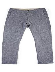 L.Bolt Yd Fleece Pantalón Largo, Hombre, Negro, M