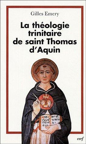La théologie trinitaire de saint Thomas d'Aquin