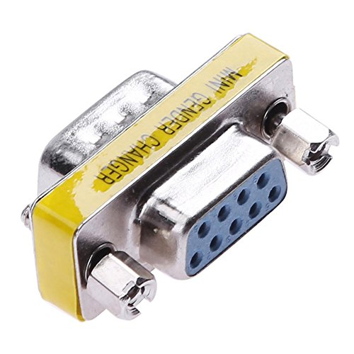 Serieller Extender (Unterbrechen RS232DB9Stecker auf Buchse Serial Port Extender Adapter Konverter Stecker)