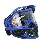 JT 143104-000 Paintball Maske Status Single, Blau