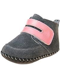 Little Blue Lamb Zapatos De Bebé 1491first-step patucos botas 3819gris rosa