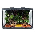 MagiDeal Reptile Vivarium Decoration Aquarium Ornament Artificial Grapes Ivy Vines 511FSgLujGL
