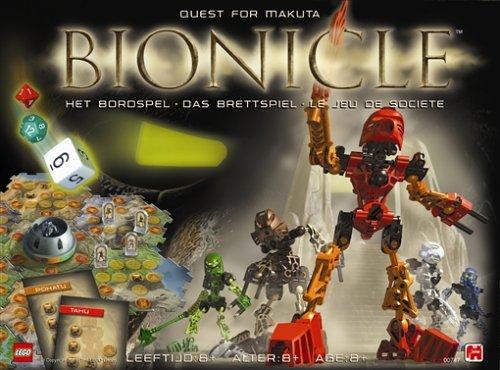 Jumbo 00747 - Lego Bionicle - Fantasy-/Abenteuerspiel