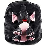 Kids School Bag Soft Toy Plush Backpack Cartoon Bag Children's Gifts Boy/Girl Baby/Decor School Bag For Kids (Ealephant)