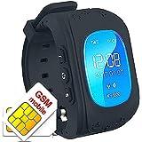 TKSTAR Los niños Reloj Inteligente GPS Rastreador niños Reloj de Pulsera teléfono SIM Anti-Lost