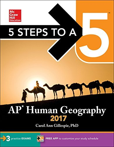 5 Steps to a 5: AP Human Geography 2017 by Carol Ann Gillespie (2016-07-28)