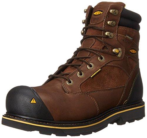 Keen Utility Men's Sheridan Insulated Comp Toe Work Boot,Cascade Brown, 8.5 2E US Comp Toe Boot