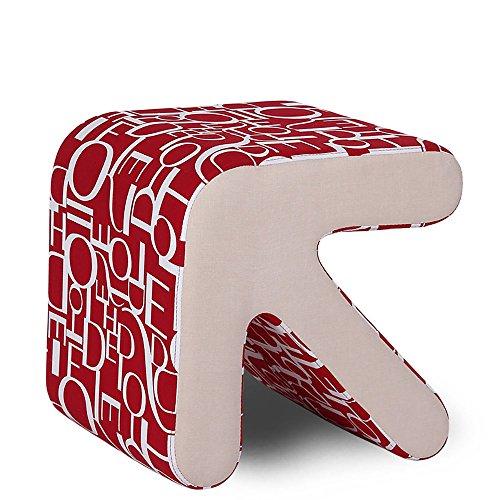 ZXQZ Tabouret de flèche en bois massif / chaussures à langer changeantes Tabouret de tabouret / tabouret à tabouret / tabouret de salon repose-pieds de stockage ( Couleur : A )