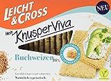 LEICHT&CROSS Mein KnusperViva mit Buchweizen, 8er Pack (8 x 125 g)