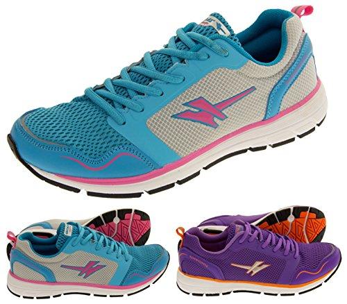 Gola Active ALA697 Speedplay Légère Chaussures de Course Femmes