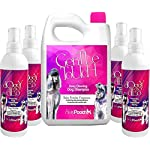 Pretty Pooch® 5L Gentle Touch Dog Shampoo & 1Litre Deodorising Spray (Baby Powder Fragrance) - A Non-itchy, Professional Deep Cleaning Shampoo for Dogs with Sensitive Skin!