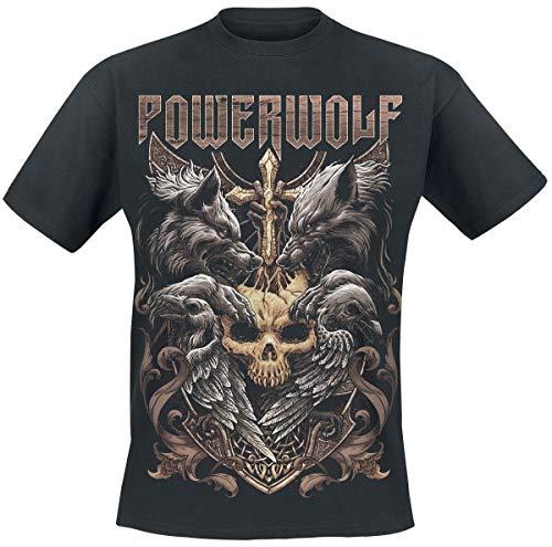 Powerwolf Wolves & Ravens T-Shirt schwarz XXL