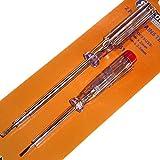 2Stück Netzteil Tester Schraubendreher-Set Flachkopf-– 140mm x 3mm und 190mm